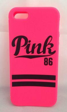 Victoria's Secret Apple iPhone 5 5S Case Phone Cover PINK 86 NEW Soft Rubber #VictoriaSecret #victoriassecretpink #pink #iphonecase