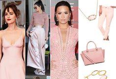 Pantone's Color 2016:  Rose Quartz outfits