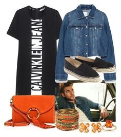 """""""Liam Hemsworth Day"""" by bianca-cazacu ❤ liked on Polyvore featuring Calvin Klein Jeans, Zara, Chanel, Tory Burch, Amrita Singh, Miriam Haskell, Kobelli and LiamHemsworth"""