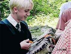 HP and The Prisoner of Azkaban. Behind the scenes with Tom Felton.