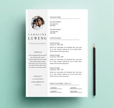 free indesign resume cv template 3 free indesign templates