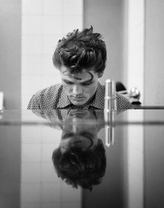 Photo by William Claxton (b. 1927), 1954, Chet Baker (piano), Hollywood.