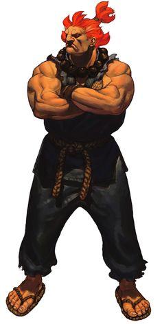 Street Fighter - Akuma - artist? *