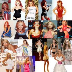 The one and only Ginger Spice/ Geri Halliwell Pretty People, Beautiful People, Emma Bunton, Girl Boards, Geri Halliwell, Spice Girls, Male Beauty, Playing Dress Up, Girl Power
