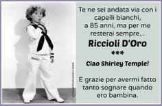 Rip Shirley! www.mammarisparmio.it