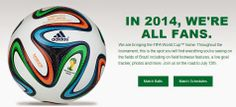 World Cup Official Match Ball collection is available, shop their amazing selection now! #worldcup   #brazil   #soccer   #FIFA   #fifaworldcup2014   #fifaworldcup   #fifa2014   #footballworldcup2014   #footballfever