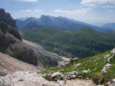 ) Val Venegia dal Passo Mulaz