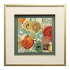 ''Blossom II'' Matted Framed Wall Art by Cat Tesla