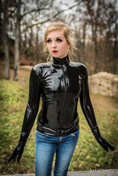 "latexandfetish: ""Teatime with Mara by PhilosophyFetish """