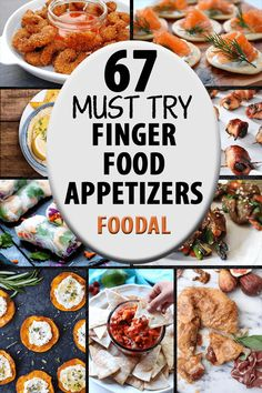 67 Finger Food Appetizers that Are Perfect for Holiday Parties 67 Appetizer Recipes for the Holidays Fancy Appetizers, Finger Food Appetizers, Appetizer Recipes, Appetizer Ideas, Easy Holiday Appetizers, Finger Food Recipes, Birthday Appetizers, Individual Appetizers, Dinner Party Appetizers