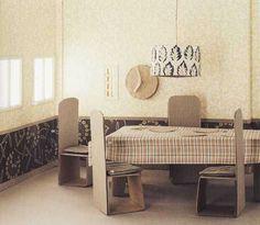 Cardboard Doll Furniture | Dollhouse Furniture | NIBS