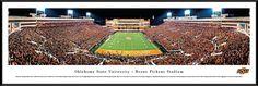 Oklahoma State Cowboys Panoramic - Boone Pickens Stadium Picture