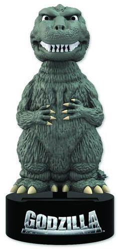#Godzilla Godzilla Solar Powered Body Knocker - Midtown Comics