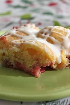 Cherry Almond Coffee Cake with Cream Cheese Glaze. Lucky Leaf Pie Filling recipes curated by SavingStar Grocery Coupons. Save money on your groceries at SavingStar.com