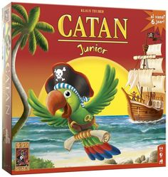 Kolonisten van Catan Junior - 21.99 *** in huis (10 euro)