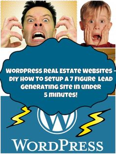 Setup A Real Estate Wordpress Site In Under 5 Minutes! And Turn It Into A 7 Figure Generating Site With Our Free Course. You Don't Need To Understand Coding, Hosting, Domains, Or Be A RockStar.  Turn Over A New Leave This Month And Make A Better Internet Marketing Presence For Yourself. Pin Today. Click To Start Your Website Today. #marketing #realestate
