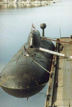 Panther, Russian Akula class submarine.