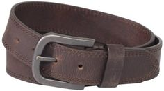Dickies Mens 38mm Leather Belt With Two Row Stitch $14.99 (save $5.01) + Free Shipping