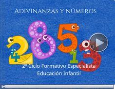 Book titled 'Adivinanzas y números'