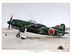 Kawanishi N1K2-J Shiden-Kai Hydravion, Avions Ww2, Avions De Chasse, Véhicules Militaires, Le Pacifique, Seconde Guerre Mondiale, Maquettes, Avion Militaire, Marine Impériale Japonaise