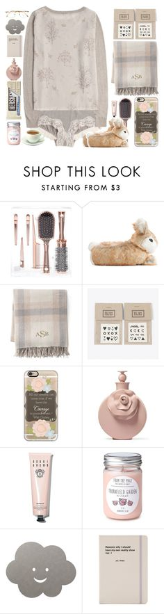 """""""Couch Potato"""" by doga1 ❤ liked on Polyvore featuring Oysho, Lands' End, NAVUCKO, Casetify, Valentino, Bobbi Brown Cosmetics, LIND DNA, Jac Vanek and Persol"""
