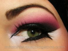 MissChievous.tv: Video tutorial: Pink and Purple Arabic Eyes