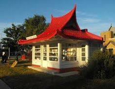 This Wadhams Oil & Grease station was built April 20, 1927 in West Allis, WI, a suburb of Milwaukee. It is located at 1647 S. 76th St.