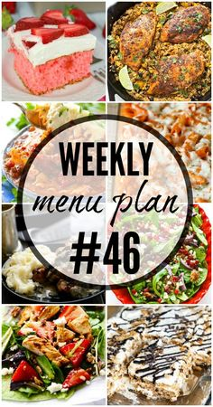 Weekly meal plans 54184001746440742 - A delicious collection of recipes to help you create your weekly menu plan. Source by kristynm Meal Planning Board, Weekly Menu Planning, Family Meal Planning, Planning Budget, Family Meals, Meal Planing, Make Ahead Meals, Freezer Meals, Frugal Meals
