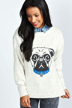 Not sure if I would ever wear this sweater- but I think it's cute:)