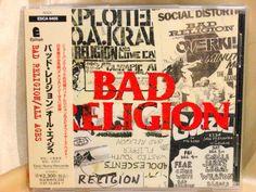 CD/Japan- BAD RELIGION All Ages +1 bonus trk w/OBI RARE ORIGINAL 1995 ESCA-6405 #PunkRockHardcore