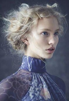 Kim van der Laan by Nicole Bentley for Marie Claire Australia
