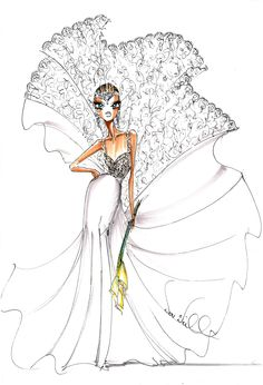 Theia sketch - a preview for the Fall 2013 collection