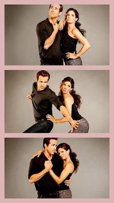 "Sandra Bullock and Ryan Reynolds.  Love Them In ""The Proposal."""