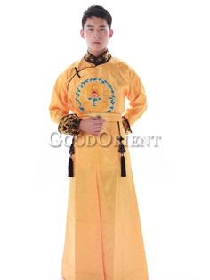 Qing Dynasty clothing of casual for emperor