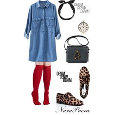 """""""Denim Style"""" by narminq on Polyvore"""