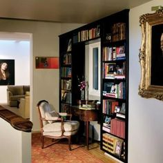 Apartment living with books