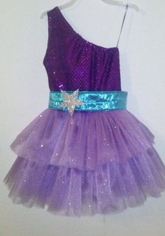 Barbie Princess and Popstar Keira Purple Dress by HandmadebyCatira