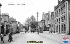 Kerklaan Veendam (jaartal: 1910 tot 1920) - Foto's SERC