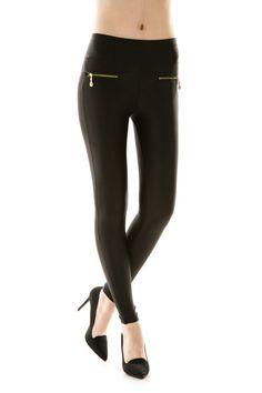 Zipper Pocket Leggings