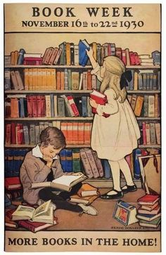 Simple, lovely – the best thing since Maurice Sendak's little-known posters celebrating reading and those vintage ads for libraries. (via TYWKIWDBI)