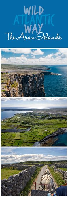 Wild and wonderful, the Aran Islands are home to a special and rare way of life. Off the west coast of Galway, these three rocky outliers of Inis Mór, Inis Oírr, and Inis Meáin are home to 1,200 people – although numbers have dwindled steadily since the 19th century. The islands are known as a Gaeltacht region, meaning inhabitants speak the Irish language; and a number of Bronze and Iron Age forts still exist to this day, most notably Dún Aonghasa, clinging to a cliff edge on Inis Mór.