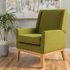 Langley Street Hierry Wingback Arm chair & Reviews | AllModern