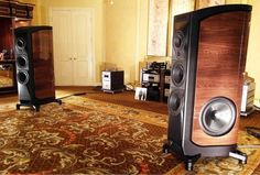 The Sonus Faber + Audio Research