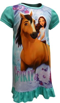 WebUndies.com Spirit the Horse Riding Free Nightgown Spirit The Horse 3cd6eddc8