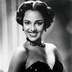 Dorothy Dandridge  ~ ~ Born on November 9, 1922, in Cleveland, Ohio, Dorothy Dandridge sang at Harlem's Cotton Club and Apollo Theatre and became the first African-American woman to be nominated for an Academy Award for best actress. Many years passed before the mainstream entertainment industry acknowledged Dandridge's legacy ~ ~ #oldhollywood #classichollywood #vintage #fashion #dorothydandridge #legend #icon #inspiration