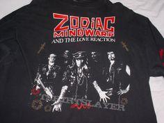 Zodiac Mindwarp & The Love Reaction '88 shirt #zodiacmindwarp