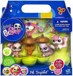 Littlest Pet Shop Pet Triplets 3-Pack Squirrels by Hasbro, http://www.amazon.com/dp/B00BW48U46/ref=cm_sw_r_pi_dp_XWN0rb1M2N2SW