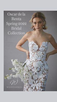 Wedding Dress Trends, Wedding Gowns, Wedding Ideas, Wedding Bells, Wedding Pictures, Wedding Ring, Tulle Dress, Strapless Dress Formal, Flower Motif