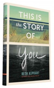 This is the Story of You by Beth Kephart ---- Seventeen-year-old Mira lives in a small island beach town off the coast of New Jersey year-round, and when a devastating superstorm strikes she will face the storm's wrath and the destruction it leaves behind alone. (Apr. '16)