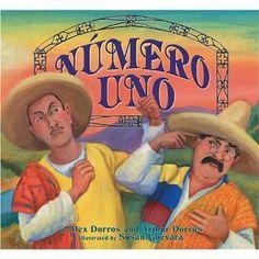 Numero Uno- Children's book by Arthur Dorros- Spanish words in it... is brains or brawn better?
